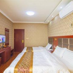 Отель Hangtian Business Hotel Xi'an Airport Китай, Сяньян - отзывы, цены и фото номеров - забронировать отель Hangtian Business Hotel Xi'an Airport онлайн комната для гостей фото 4