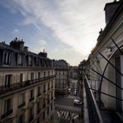 Отель Andrea Франция, Париж - отзывы, цены и фото номеров - забронировать отель Andrea онлайн балкон