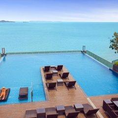 Отель Wong Amat Tower Apt.909 Паттайя бассейн
