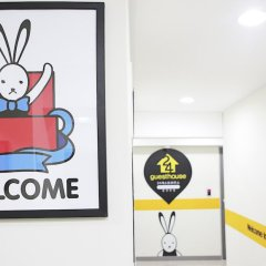 Отель 24 Guesthouse Cheonggyecheon фитнесс-зал фото 3