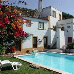 Отель Casa do Castelo da Atouguia бассейн