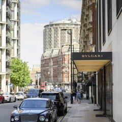 Bulgari Hotel London Лондон парковка