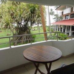 Отель Tangerine Beach Шри-Ланка, Калутара - 2 отзыва об отеле, цены и фото номеров - забронировать отель Tangerine Beach онлайн балкон