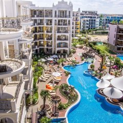 Отель Harmony Suites Monte Carlo Болгария, Солнечный берег - 1 отзыв об отеле, цены и фото номеров - забронировать отель Harmony Suites Monte Carlo онлайн балкон