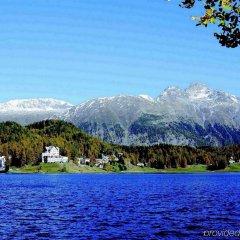 Отель Waldhaus am See Швейцария, Санкт-Мориц - отзывы, цены и фото номеров - забронировать отель Waldhaus am See онлайн приотельная территория