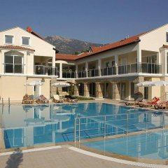 Orka Center Point Apartments Турция, Олудениз - отзывы, цены и фото номеров - забронировать отель Orka Center Point Apartments онлайн бассейн