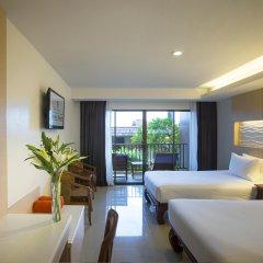 Отель Chanalai Garden Resort, Kata Beach 4* Улучшенный номер с различными типами кроватей
