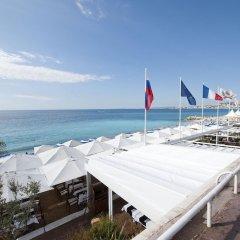 Отель Beau Rivage Франция, Ницца - отзывы, цены и фото номеров - забронировать отель Beau Rivage онлайн пляж фото 2