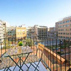 Отель Flateli Aribau Барселона балкон
