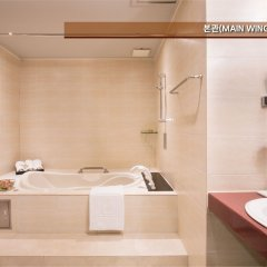 Отель Eldis Regent Hotel Южная Корея, Тэгу - отзывы, цены и фото номеров - забронировать отель Eldis Regent Hotel онлайн ванная