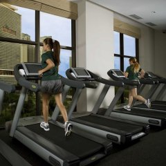 Отель InterContinental Miami фитнесс-зал фото 4