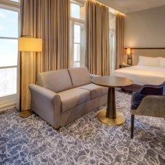 Отель Hilton London Euston 4* Улучшенный номер с различными типами кроватей фото 3