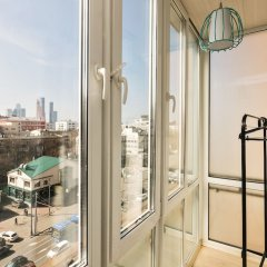Апартаменты GM Apartment Krasnaya Presnya 38 балкон
