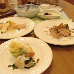 Отель Pension Blue Хакуба питание