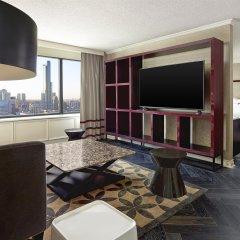 Отель Sheraton Centre Toronto Hotel Канада, Торонто - отзывы, цены и фото номеров - забронировать отель Sheraton Centre Toronto Hotel онлайн комната для гостей фото 3