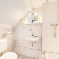 Hotel Antares Düsseldorf ванная