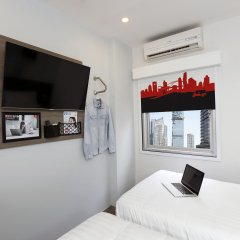 Отель Red Planet Bangkok Surawong комната для гостей фото 3