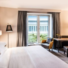 Sheraton Duesseldorf Airport Hotel комната для гостей фото 8