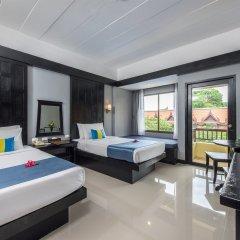 Отель Diamond Cottage Resort And Spa пляж Ката комната для гостей фото 4