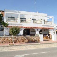 Отель Hostal Sa Prensa Испания, Сьюдадела - отзывы, цены и фото номеров - забронировать отель Hostal Sa Prensa онлайн вид на фасад фото 2