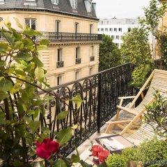 Отель Belmont Paris Франция, Париж - 9 отзывов об отеле, цены и фото номеров - забронировать отель Belmont Paris онлайн балкон