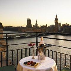 Отель London Marriott Hotel County Hall Великобритания, Лондон - 1 отзыв об отеле, цены и фото номеров - забронировать отель London Marriott Hotel County Hall онлайн балкон