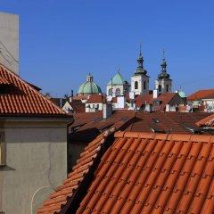 Hotel King George Прага балкон