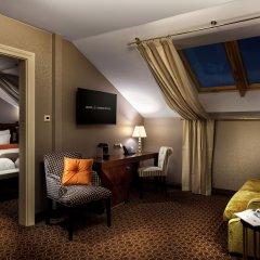 Отель Cosmopolitan Hotel Prague Чехия, Прага - 4 отзыва об отеле, цены и фото номеров - забронировать отель Cosmopolitan Hotel Prague онлайн комната для гостей фото 4