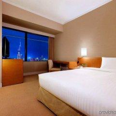 Отель Hilton Fukuoka Sea Hawk Япония, Фукуока - отзывы, цены и фото номеров - забронировать отель Hilton Fukuoka Sea Hawk онлайн комната для гостей