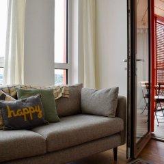 Апартаменты Modern 1 Bedroom Apartment in Greenwich комната для гостей фото 4