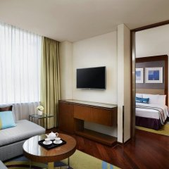 Отель Courtyard By Marriott Seoul Times Square комната для гостей фото 4
