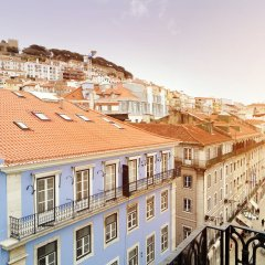 Отель Tesouro da Baixa by Shiadu Португалия, Лиссабон - 1 отзыв об отеле, цены и фото номеров - забронировать отель Tesouro da Baixa by Shiadu онлайн балкон