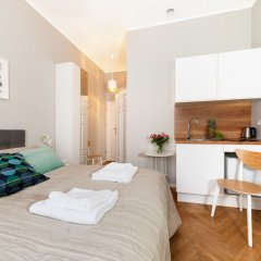Отель Kramarska Lux - Friendly Apartments Польша, Познань - отзывы, цены и фото номеров - забронировать отель Kramarska Lux - Friendly Apartments онлайн комната для гостей фото 3
