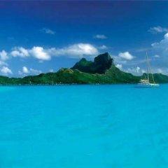 Отель Sunset Hill Lodge Французская Полинезия, Бора-Бора - отзывы, цены и фото номеров - забронировать отель Sunset Hill Lodge онлайн пляж фото 2