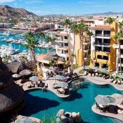 Отель Great Marina-view Nautical JR Suite IN Cabo Золотая зона Марина бассейн фото 2