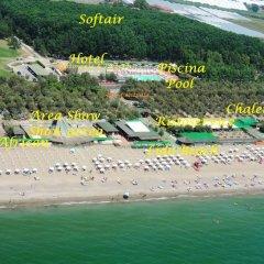 Hotel Quadrifoglio - Quadrifoglio Village Понтеканьяно пляж фото 2