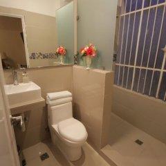Отель del Angel Мексика, Гвадалахара - отзывы, цены и фото номеров - забронировать отель del Angel онлайн ванная