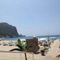 Alin Hotel Турция, Аланья - 13 отзывов об отеле, цены и фото номеров - забронировать отель Alin Hotel онлайн пляж
