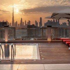 Отель Hilton Garden Inn Dubai Al Jadaf Culture Village ОАЭ, Дубай - 1 отзыв об отеле, цены и фото номеров - забронировать отель Hilton Garden Inn Dubai Al Jadaf Culture Village онлайн балкон