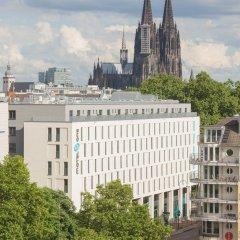 Отель Motel One Köln-Mediapark Германия, Кёльн - отзывы, цены и фото номеров - забронировать отель Motel One Köln-Mediapark онлайн балкон