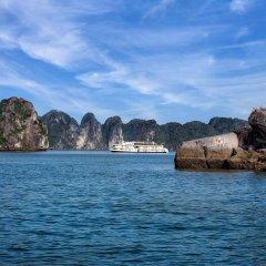 Отель Emeraude Classic Cruises Вьетнам, Халонг - отзывы, цены и фото номеров - забронировать отель Emeraude Classic Cruises онлайн пляж фото 2