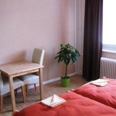 Отель Monteurzimmer Barbaroussis Гамбург удобства в номере
