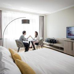 Отель Marriott Lyon Cité Internationale Франция, Лион - отзывы, цены и фото номеров - забронировать отель Marriott Lyon Cité Internationale онлайн комната для гостей фото 3