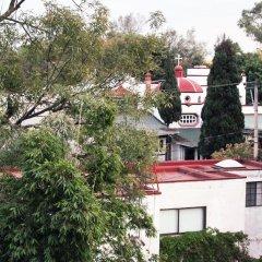Отель Hostal Mx Coyoacan Мехико парковка