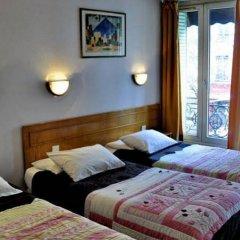 Отель Hôtel des Buttes Chaumont сейф в номере