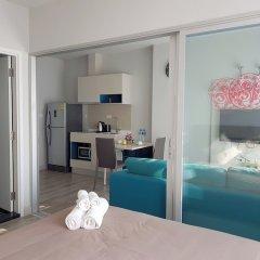 Отель 1Br Centric Sea 115 With Infinity Pool Паттайя комната для гостей фото 2