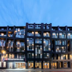 Отель Hilton Garden Inn Riga Old Town Латвия, Рига - отзывы, цены и фото номеров - забронировать отель Hilton Garden Inn Riga Old Town онлайн вид на фасад фото 3