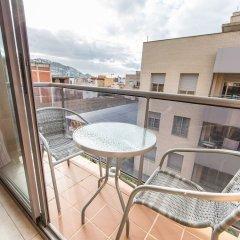 Отель Nil Испания, Курорт Росес - отзывы, цены и фото номеров - забронировать отель Nil онлайн балкон
