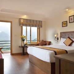 Отель Sapa Eden View Hotel Вьетнам, Шапа - отзывы, цены и фото номеров - забронировать отель Sapa Eden View Hotel онлайн комната для гостей фото 4