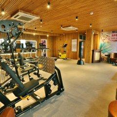 New Epoch Hotel фитнесс-зал